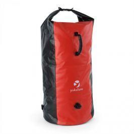 Yukatana Quintono 100 trekking hátizsák, 100 liter, vízálló, fekete/piros