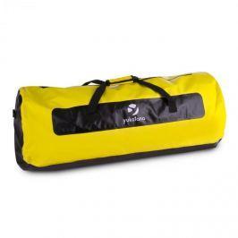 Yukatana Quintoni 120, fekete/sárga, vízhatlan táska, sporttáska, 120 literes, vízhatlan