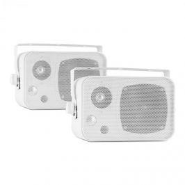 Auna CB105, fehér, passzív 2-sávos hangfal, max. 20 W, pár, tartó mellékelve