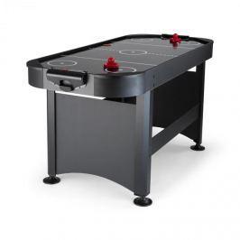 """OneConcept Arctic Thunder léghoki asztal, 7"""", 80 x 90 x 190 cm (SZxMxM), fekete"""