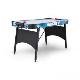 """OneConcept Polar Combat léghoki asztal, 6"""", 76 x 82 x 161 cm (SZxMxM), fekete"""