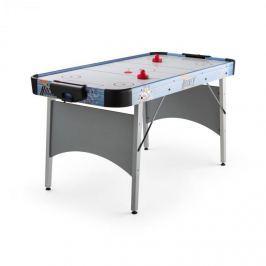 """OneConcept Polar Battle léghoki asztal, 6"""", 76 x 82 x 161 cm (SZxMxM), ezüst"""