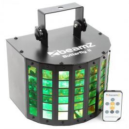 Beamz Butterfly II LED Mini Derby, 6x3W, RGBAWP, IR