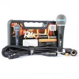 Power Dynamics PDM660 kondenzátoros mikrofon XLR +48V