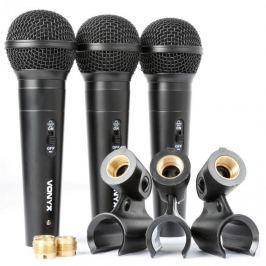 Vonyx VX1800S, dinamikus mikrofon készlet