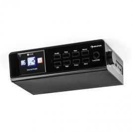 """Auna fKR-190, fekete, konyhai internetrádió, beépíthető, WIFI, vezérlés alkalmazással, 3,2"""" TFT kijelző"""