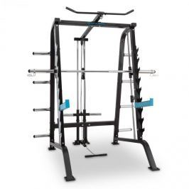 CAPITAL SPORTS Squatster erősítő állvány, squat rack, acél, fekete