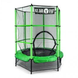 Klarfit Rocketkid, zöld, 140 cm, trambulin