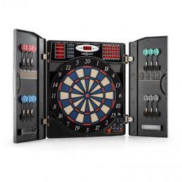 OneConcept Masterdarter elektromos darts céltábla, puha hegyek, fém hatás