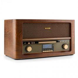 Auna Belle Epoque 1906 DAB, retro sztereó rendszer, bluetooth, CD, USB, MP3, FM