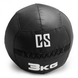 CAPITAL SPORTS Bravor Wall Ball medicinlabda, PVC, dupla varrások, 3kg, fekete