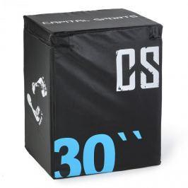 CAPITAL SPORTS Rooko Soft Jump Box, plyo box, 76x61x51 cm, fekete