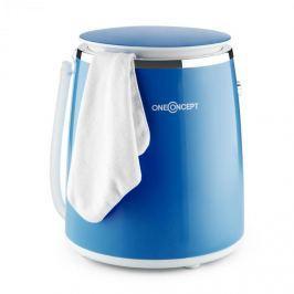 OneConcept Ecowash-Pico mini mosógép, centrifuga funkció, 3,5 kg, 380 W, kék