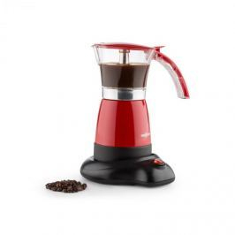 OneConcept Funpresso espresso kávéfőző, elektromos, 6 csésze, 300 ml, piros