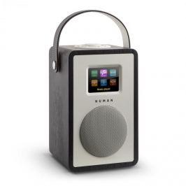 NUMAN Mini Two, tölgyfa, dizájn internetrádió, WiFi, DLNA, bluetooth, DAB/DAB+, FM