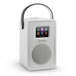 NUMAN Mini Two, fehér,dizájn internetrádió, WiFi, DLNA, bluetooth, DAB/DAB+, FM