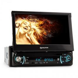 Auna MVD-330 Moniceiver, autórádió, bluetooth, USB, SD, AUX, MP3, 18 cm (7'') Touchscreen