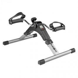 Klarfit Spinmin Pro Mini Bike, pedálos gép, edzőgép, kijelző, összecsukható, fekete