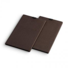 NUMAN Retrospective 1978 Active polchangfal textil burkolat, 2 darab, fekete-barna