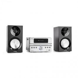 LTC CDM90-SI mikro HiFi sztereó rendszer, 40 W, bluetooth, USB, CD, FM/AM, ezüst