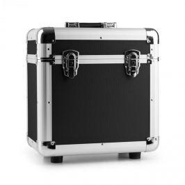 """Power Dynamics RC80, fekete, 12"""", alumínium lemeztartó koffer, bakelittartó, 80 LP lemez"""