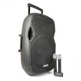 Vonyx AP1500PA, mobil PA rendszer, 38 cm (15''), bluetooth, USB, SD, MP3, VHF tölthető akkumulátor