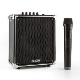 Fenton ST040, hordozható hangrendszer, bluetooth, USB, microSD, MP3, VHF, akkumulátor