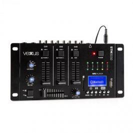 Vexus STM3030, 4-csatornás keverőpult, bluetooth, USB, SD, MP3, LED