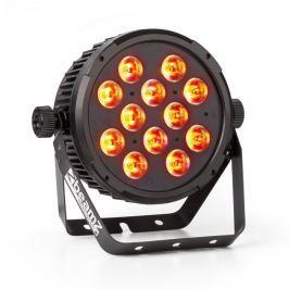 Beamz BT300 FlatPAR reflektor, 12 x 12W 6-in-1 LED, RGBAW-UV, DMX, IR távirányító