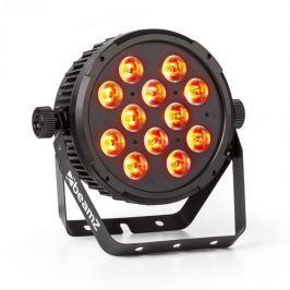 Beamz BT310 FlatPAR reflektor, 12 x 8W 4-in-1 LED, RGBAW-UV, DMX, IR távirányító