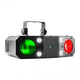 Beamz Terminator III, 3-in-1-LED fényhatás, moonflower, lézer, stroboszkóp