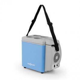 OneConcept Roadtrip Mini termo hűtődoboz, 6l, 12V, adapter, szivargyújtó, kék