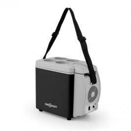 OneConcept Roadtrip Mini termo hűtődoboz, 6l, 12V, adapter, szivargyújtó, fekete