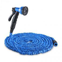 Waldbeck Flex 22 flexibilis kerti locsolócső, 8 funkció, 22,5m, kék