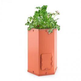 Waldbeck Potatoe-Pro, virágcserép burgonya termesztésére, kihúzható fedél a gyűjtődobozon, terrakotta