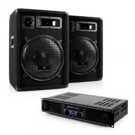 """Electronic-Star DJ Audio szett """"Nizza Nights"""" - erősítő, 2 x hangfal"""