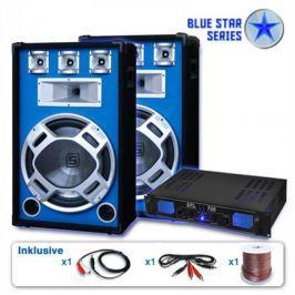 """Skytronic BLUE STAR SERIES """"BEATSTAR"""" PA KÉSZLET, 2000 W"""