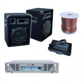 Electronic-Star PA hangfal 800W, DJ PA erősítő ésDinamikus mikrofon