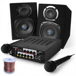 Electronic-Star Karaoke szett Pony`s Ranch, erősítő, hangfalak, mikr. szett