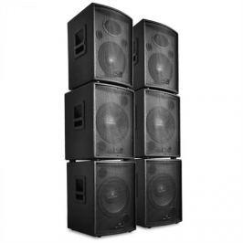 Malone DJ/PA 6-részes szett aktív Auna Pharos hangszórók, 7200 W