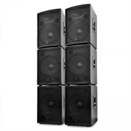 Malone DJ PA Aktív 6 részes Auna Artemis hangfal szett, 10000 W
