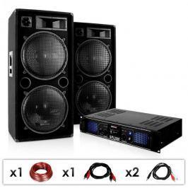 Electronic-Star DJ PA készülék DJ-42, erősítő, hangfal 3000 W