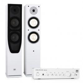 Koda Hi-fi házimozi KODA White - erősítő + hangfalak, fehér