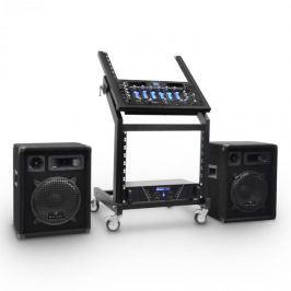 Electronic-Star Rack Star Series Mercury Beat DJ PA szett, 250 személy