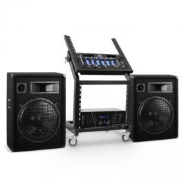 Electronic-Star Rack Star Series Venus Bounce DJ PA szett, Bluetooth