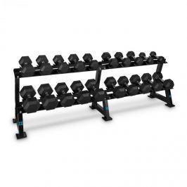 CAPITAL SPORTS Dumbbell Rack Set, állvány súlyzókra, szett, 20 hely, 10 x pár súlyzó