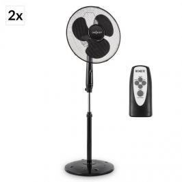 OneConcept Black Blizzard RC 2G álló ventilátor, 41 cm, 50 W, távirányító