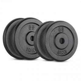 CAPITAL SPORTS IPB 30 kg készlet, tárcsasúly készlet, 4 x2 x 5 kg + 2 x 10 kg, 30 mm