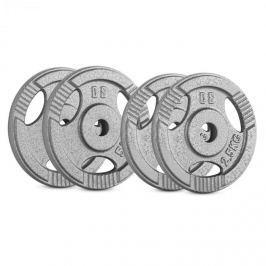 CAPITAL SPORTS IP3H 15 kg készlet, tárcsasúly készlet,2 x 2,5 kg + 2 x 5 kg, 30 mm