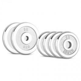 CAPITAL SPORTS CP 15 kg, súlytárcsa készlet, 4 x 1,25 kg + 2 x 5 kg, 30 mm